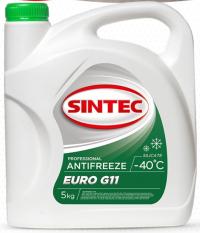 Антифриз SINTEC - 40 град (зеленый) EURO G11 силикатный 5 кг Купить в Луганске ЛНР