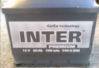 Купить Аккумулятор INTER  PREMIUM R+ 60Ah  540A в Луганске ЛНР