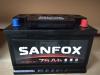 Купить Аккумулятор SANFOX R+ 75Ah  600A в Луганске ЛНР