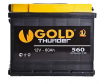 Купить Аккумулятор GOLD THUNDER 6СТ-60 L+  560A  в Луганске ЛНР