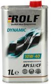 Моторное масло 10W/40 ROLF Dynamic 1л Купить в Луганске ЛНР